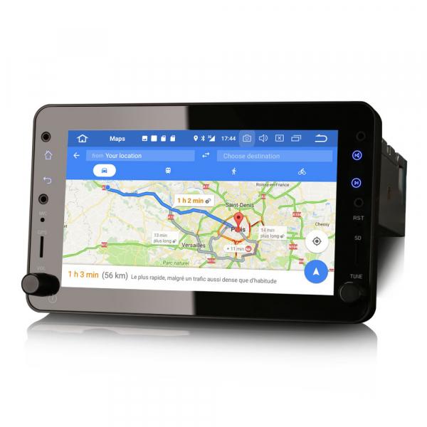 Navigatie auto 2 din, Pachet dedicat ALFA ROMEO Brera Spider 159 Sportwagon, Android 10.0, 7 inch,, DAB+,Quad core, 2GB Ram,16GB memorie interna 4