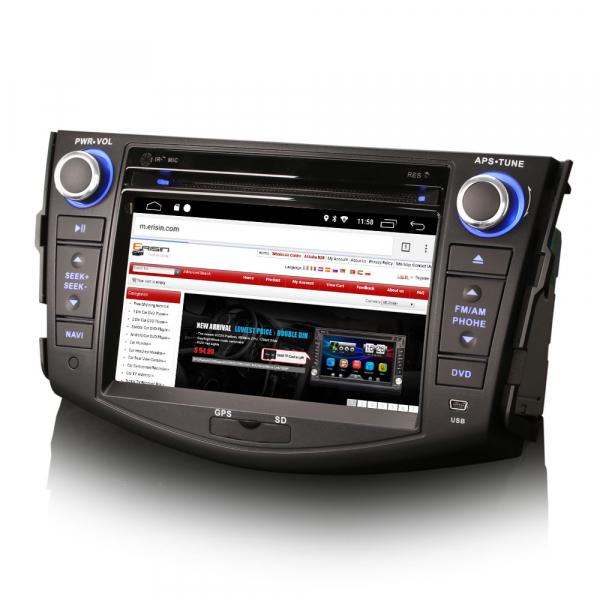 Navigatie auto, Pachet dedicat TOYOTA RAV 4,7 inch, Android 10, GPS, WIFI, DAB+,DVD, 2GB RAM, 16GB memorie interna 1