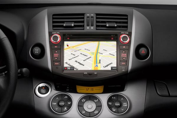 Navigatie auto, Pachet dedicat TOYOTA RAV 4,7 inch, Android 10, GPS, WIFI, DAB+,DVD, 2GB RAM, 16GB memorie interna 4