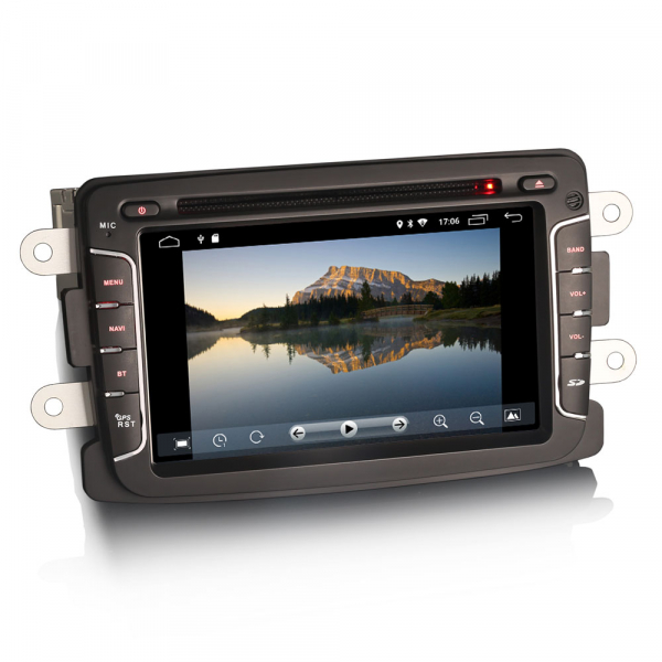Navigatie auto, Pachet dedicat Renault Dacia Duster Sandero Dokker Lodgy, Android 10, 2GB RAM, 16GB memorie interna, 7 inch 1
