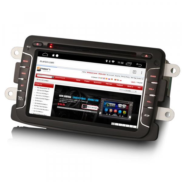 Navigatie auto, Pachet dedicat Renault Dacia Duster Sandero Dokker Lodgy, Android 10, 2GB RAM, 16GB memorie interna, 7 inch 2