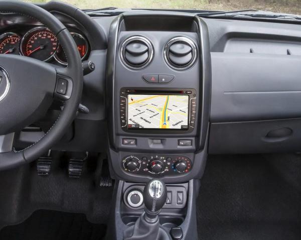 Navigatie auto, Pachet dedicat Renault Dacia Duster Sandero Dokker Lodgy, Android 10, 2GB RAM, 16GB memorie interna, 7 inch 6