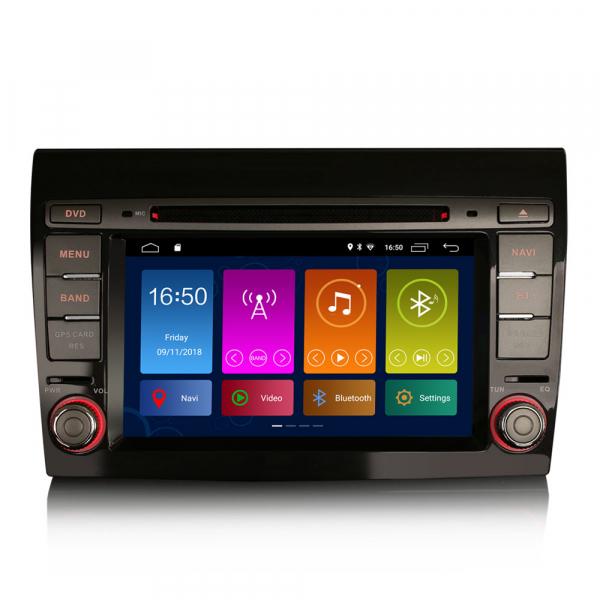 Navigatie auto, Pachet dedicat Fiat Bravo ,7 inch, Android 10, GPS, WIFI, DAB+, 2GB RAM, 16GB memorie interna 0