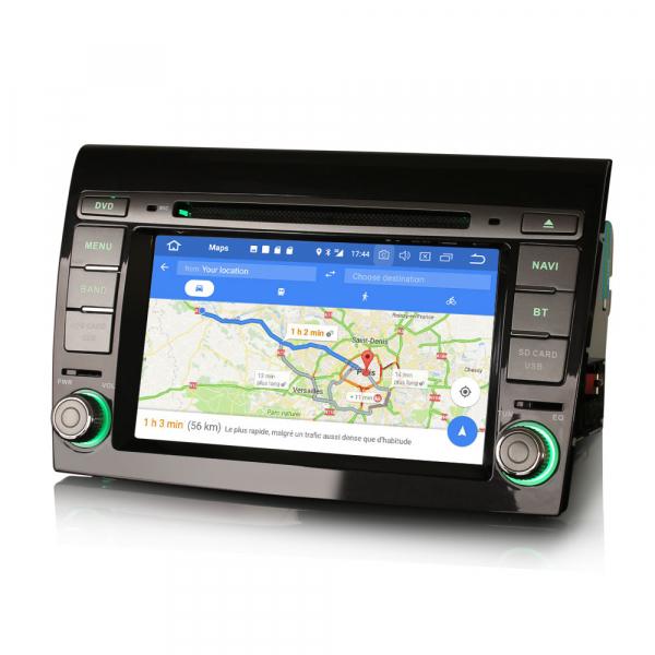 Navigatie auto, Pachet dedicat Fiat Bravo ,7 inch, Android 10, GPS, WIFI, DAB+, 2GB RAM, 16GB memorie interna 3