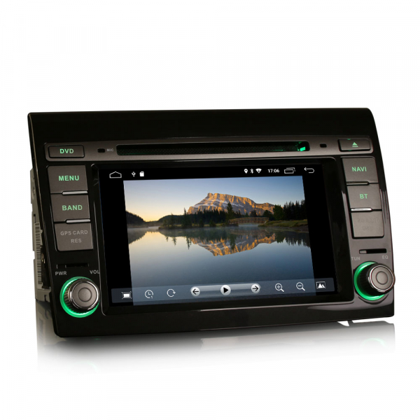 Navigatie auto, Pachet dedicat Fiat Bravo ,7 inch, Android 10, GPS, WIFI, DAB+, 2GB RAM, 16GB memorie interna 1
