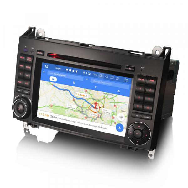 Navigatie auto 2 din, Pachet dedicat MERCEDES Benz A/B Class Vito Viano, Android 9.0 , WIFI+GPS, 7 inch,, DAB+,Quad core CPU, 2GB Ram,16GB memorie interna 4