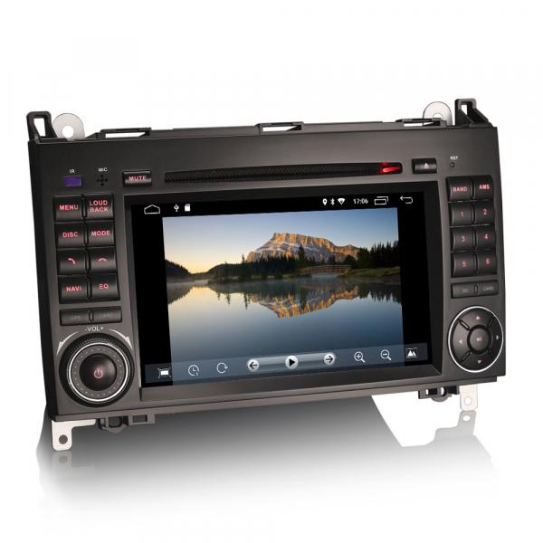 Navigatie auto 2 din, Pachet dedicat MERCEDES Benz A/B Class Vito Viano, Android 9.0 , WIFI+GPS, 7 inch,, DAB+,Quad core CPU, 2GB Ram,16GB memorie interna 1