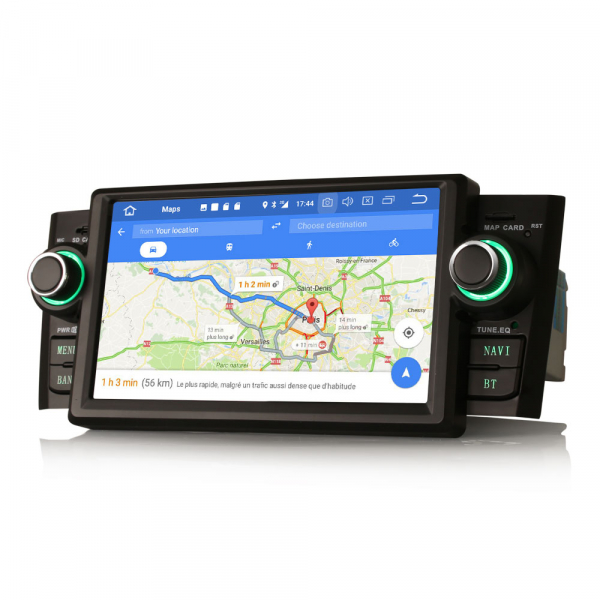 Navigatie auto, Pachet dedicat Fiat Punto Linea ,7 inch, Android 9.0, GPS, WIFI, DAB+, 2GB RAM, 16GB memorie interna 5