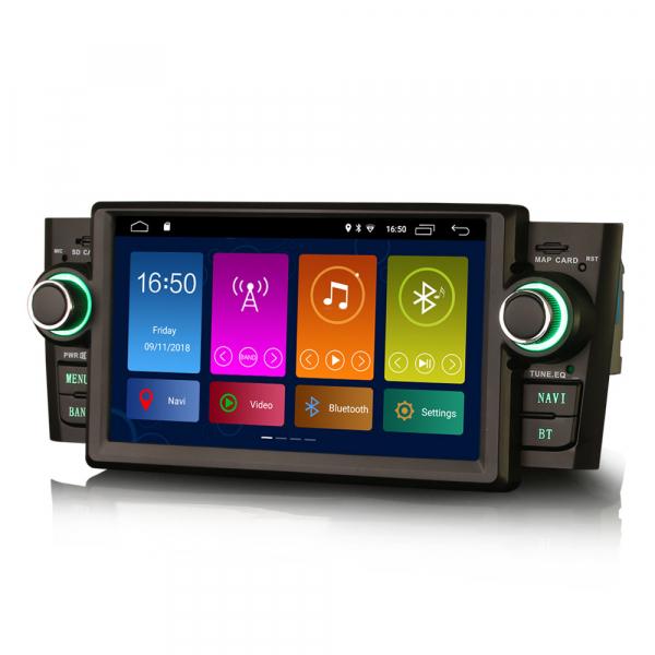 Navigatie auto, Pachet dedicat Fiat Punto Linea ,7 inch, Android 9.0, GPS, WIFI, DAB+, 2GB RAM, 16GB memorie interna 1