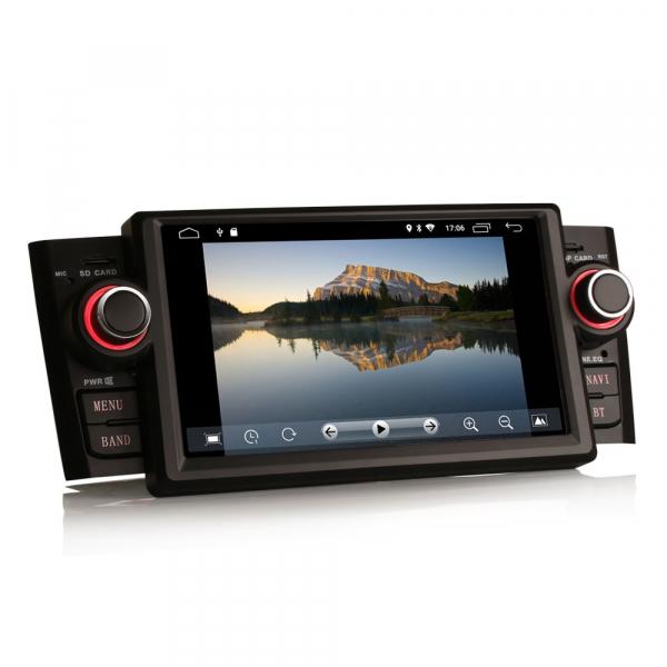 Navigatie auto, Pachet dedicat Fiat Punto Linea ,7 inch, Android 9.0, GPS, WIFI, DAB+, 2GB RAM, 16GB memorie interna 2
