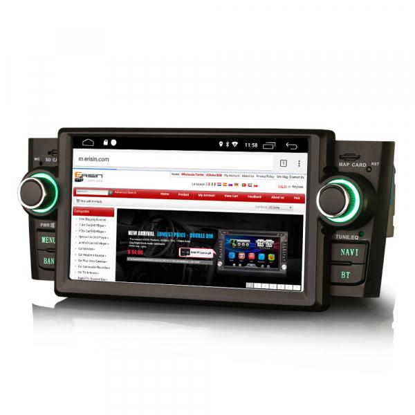 Navigatie auto, Pachet dedicat Fiat Punto Linea ,7 inch, Android 9.0, GPS, WIFI, DAB+, 2GB RAM, 16GB memorie interna 3