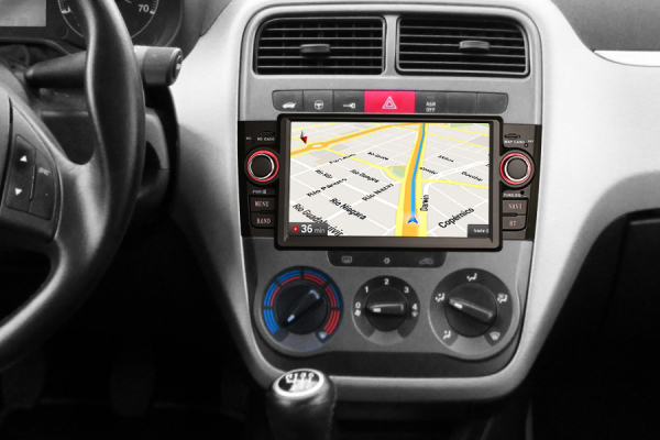 Navigatie auto, Pachet dedicat Fiat Punto Linea ,7 inch, Android 9.0, GPS, WIFI, DAB+, 2GB RAM, 16GB memorie interna 6