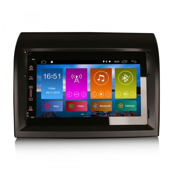 Navigatie auto, Pachet dedicat Fiat Ducato Citroen Jumper Peugeot Boxer ,7 inch, Android 10.0, GPS, WIFI, DAB+, 2GB RAM, 16GB memorie interna [0]