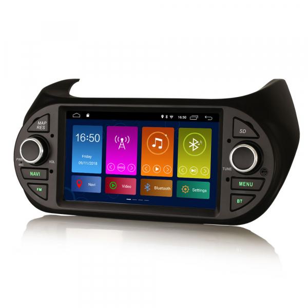 Navigatie auto, Pachet dedicat  Citroen Nemo Peugeot Bipper Fiat Fiorino ,7 inch, Android 9.0, GPS, WIFI, DAB+, 2GB RAM, 16GB memorie interna [1]