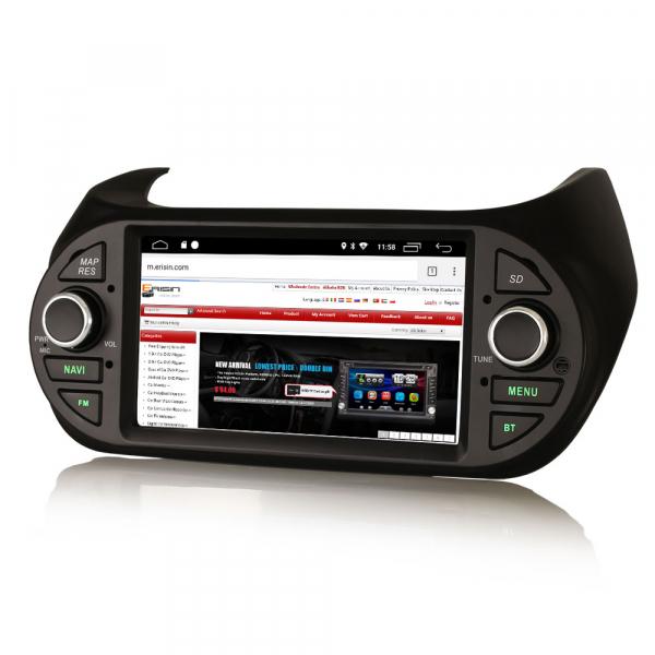 Navigatie auto, Pachet dedicat  Citroen Nemo Peugeot Bipper Fiat Fiorino ,7 inch, Android 9.0, GPS, WIFI, DAB+, 2GB RAM, 16GB memorie interna [3]