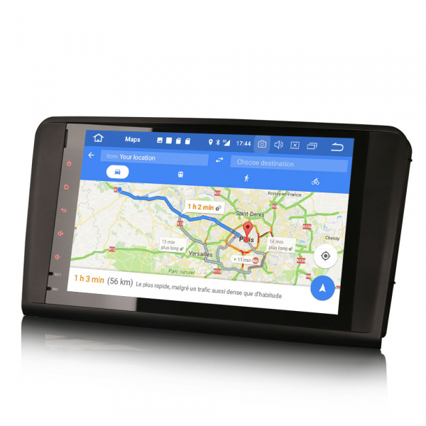 Navigatie auto 2 din, Pachet dedicat Mercedes Benz ML/GL Classe W164 X164, Android 10, 9 inch, 2GB Ram,16GB memorie interna 4