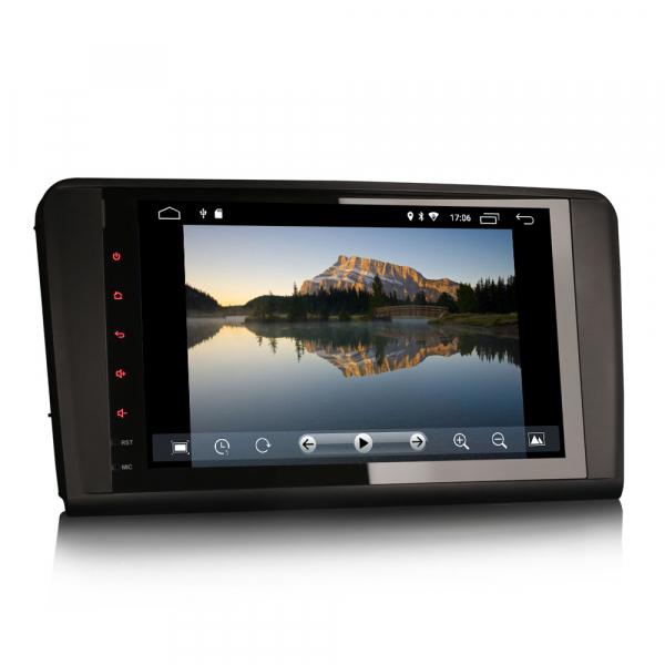Navigatie auto 2 din, Pachet dedicat Mercedes Benz ML/GL Classe W164 X164, Android 10, 9 inch, 2GB Ram,16GB memorie interna 1