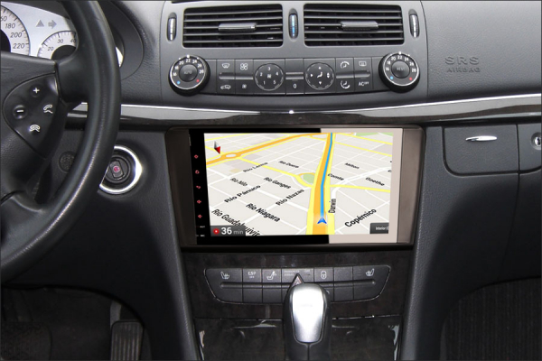 Navigatie auto 2 din, Pachet dedicat Mercedes Benz ML/GL Classe W164 X164, Android 10, 9 inch, 2GB Ram,16GB memorie interna 5