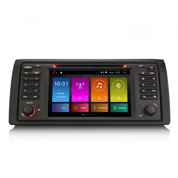 Navigatie auto, Pachet dedicat BMW seria 5 E39 E53 X5 M5, Android 10.0, 2GB RAM, 16GB memorie interna 0
