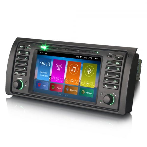 Navigatie auto, Pachet dedicat BMW seria 5 E39 E53 X5 M5, Android 10.0, 2GB RAM, 16GB memorie interna 4