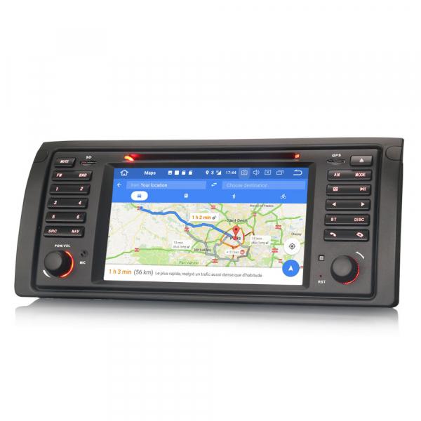 Navigatie auto, Pachet dedicat BMW seria 5 E39 E53 X5 M5, Android 10.0, 2GB RAM, 16GB memorie interna 5