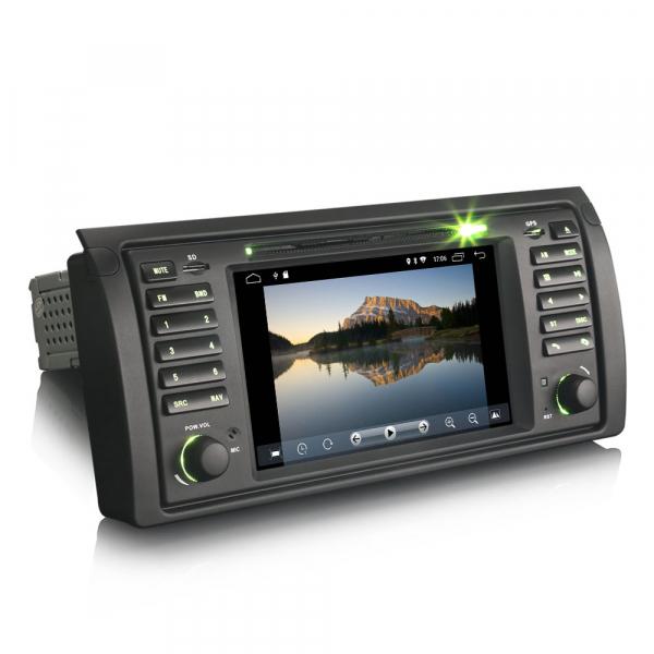 Navigatie auto, Pachet dedicat BMW seria 5 E39 E53 X5 M5, Android 10.0, 2GB RAM, 16GB memorie interna 1