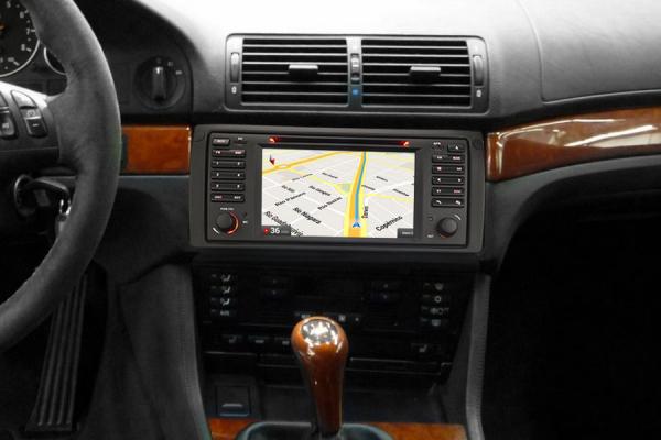 Navigatie auto, Pachet dedicat BMW seria 5 E39 E53 X5 M5, Android 10.0, 2GB RAM, 16GB memorie interna 6