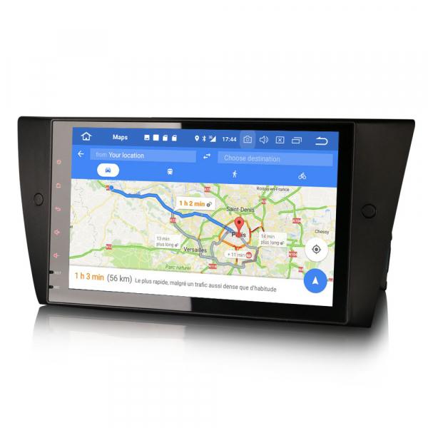 Navigatie auto 2 din, Pachet dedicat BMW 3 Series E90 E91 E92 E93, Android 10.0, 9 inch, DAB+,Quad core CPU, 2GB Ram,16GB memorie interna 6