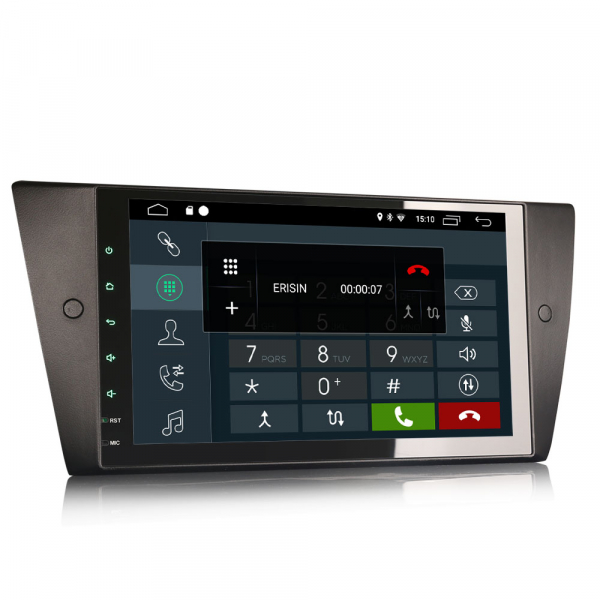 Navigatie auto 2 din, Pachet dedicat BMW 3 Series E90 E91 E92 E93, Android 10.0, 9 inch, DAB+,Quad core CPU, 2GB Ram,16GB memorie interna 1