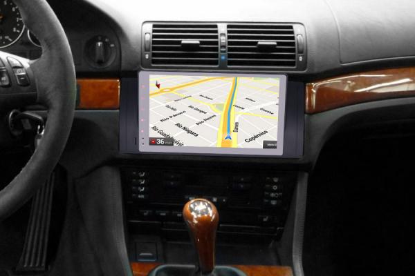 Navigatie auto 2 din, Pachet dedicat BMW M5 5er E39 E53 X5, Android 10 , WIFI+GPS, 9 inch,, DAB+,Quad core CPU, 2GB Ram,16GB memorie interna [5]
