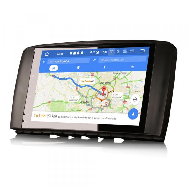 Navigatie auto 2 din, Pachet dedicat Mercedes R Class W251, Android 10 , WIFI+GPS, 9 inch,, DAB+,Quad core CPU, 2GB Ram,16GB memorie interna [3]