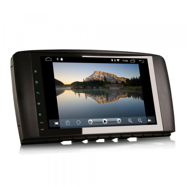 Navigatie auto 2 din, Pachet dedicat Mercedes R Class W251, Android 10 , WIFI+GPS, 9 inch,, DAB+,Quad core CPU, 2GB Ram,16GB memorie interna [1]