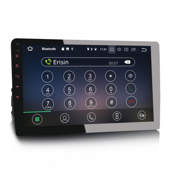 Navigatie auto universala/Multimedia player cu articulatie rotativa reglabila,10.1 inch, Android 9.0, WiFi DAB+ GPS TNT DVR Bluetooth [2]