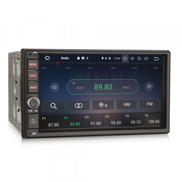 Navigatie auto 2 din, Universala, Android 9.0 , WIFI+GPS, 7 inch DAB+,Quad core CPU. 5
