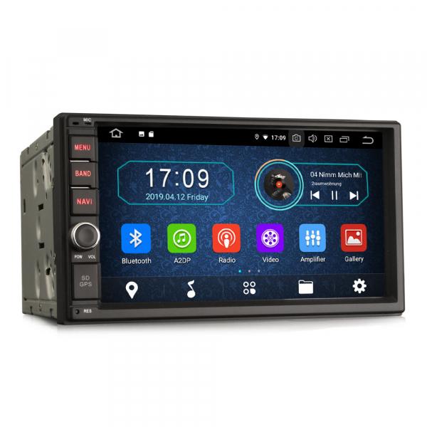 Navigatie auto 2 din, Universala, Android 9.0 , WIFI+GPS, 7 inch DAB+,Quad core CPU. 6