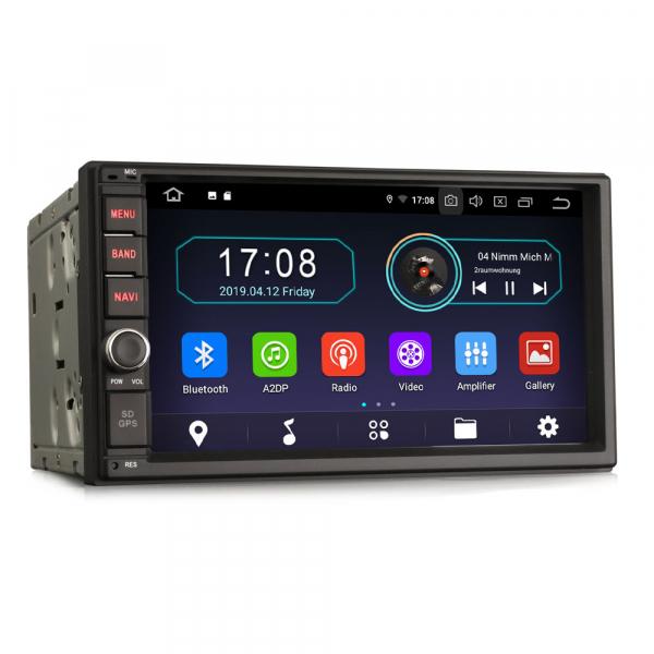Navigatie auto 2 din, Universala, Android 9.0 , WIFI+GPS, 7 inch DAB+,Quad core CPU. 3