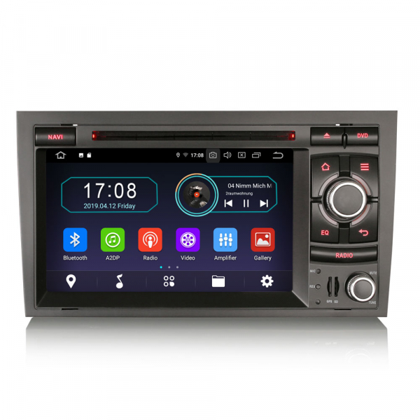 Navigatie auto, Pachet dedicat AUDI A4 S4 RS4 SEAT EXEO,7 inch, Android 9.0, GPS, WIFI, DAB+. 0