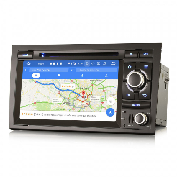 Navigatie auto, Pachet dedicat AUDI A4 S4 RS4 SEAT EXEO,7 inch, Android 9.0, GPS, WIFI, DAB+. 7
