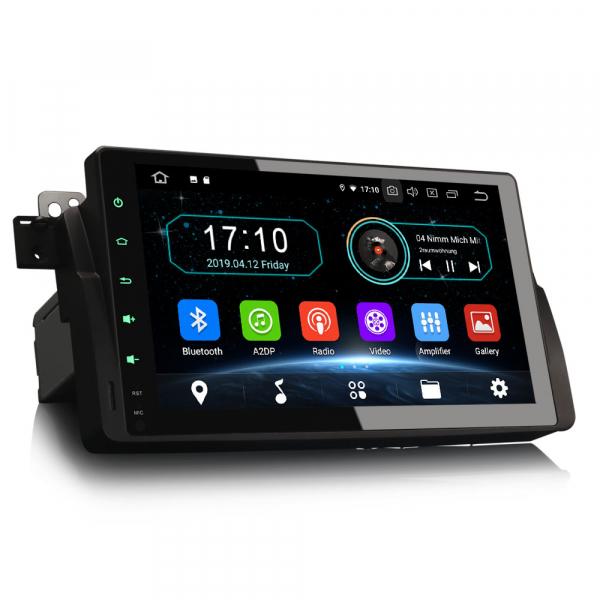 Navigatie auto, Pachet dedicat  BMW Seria 3 318 320 E46 Rover 75 MG ZT ,9 inch, Android 9.0, GPS, WIFI, DAB+. 5