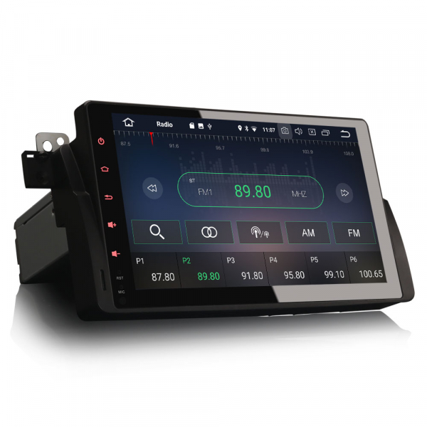 Navigatie auto, Pachet dedicat  BMW Seria 3 318 320 E46 Rover 75 MG ZT ,9 inch, Android 9.0, GPS, WIFI, DAB+. 6