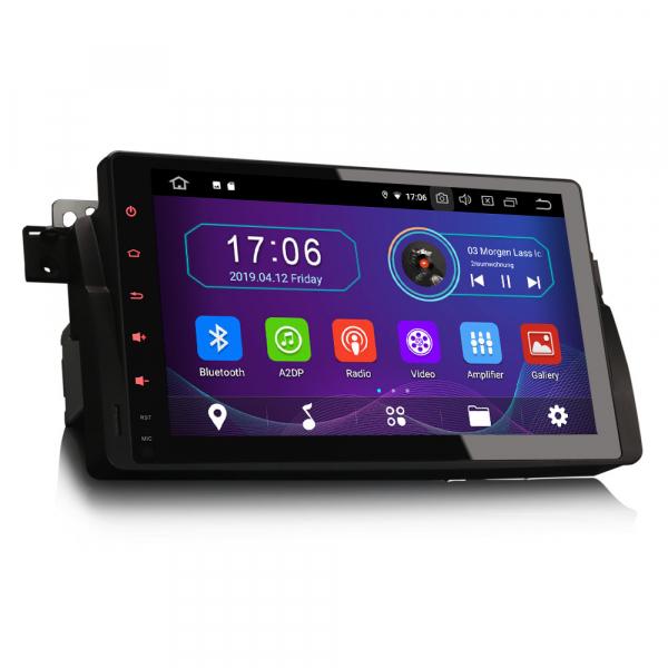 Navigatie auto, Pachet dedicat  BMW Seria 3 318 320 E46 Rover 75 MG ZT ,9 inch, Android 9.0, GPS, WIFI, DAB+. 8