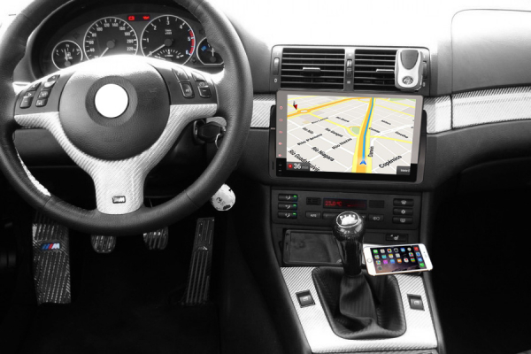 Navigatie auto, Pachet dedicat  BMW Seria 3 318 320 E46 Rover 75 MG ZT ,9 inch, Android 9.0, GPS, WIFI, DAB+. 9