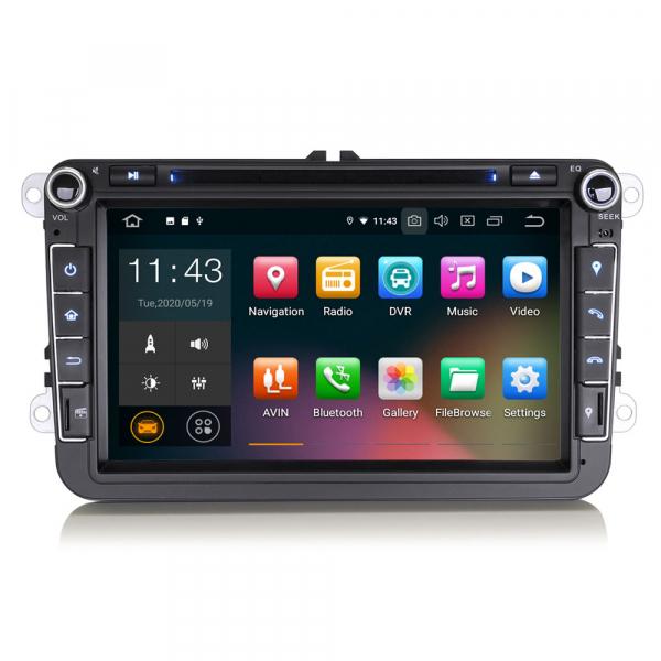 Navigatie auto universala 2DIN(VW/SEAT/SKODA), 8 inch, Android 10, Gps 4G , 2GB RAM, 16GB memorie interna 0