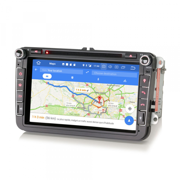 Navigatie auto universala 2DIN(VW/SEAT/SKODA), 8 inch, Android 10, Gps 4G , 2GB RAM, 16GB memorie interna 6