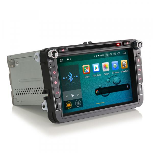 Navigatie auto universala 2DIN(VW/SEAT/SKODA), 8 inch, Android 10, Gps 4G , 2GB RAM, 16GB memorie interna 7