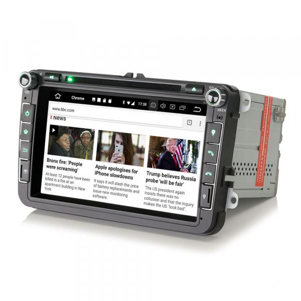 Navigatie auto universala 2DIN(VW/SEAT/SKODA), 8 inch, Android 10, Gps 4G , 2GB RAM, 16GB memorie interna 2