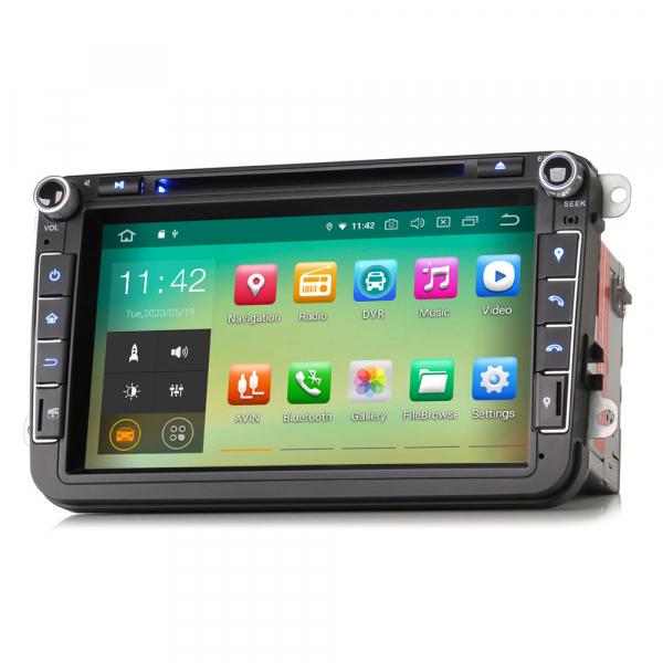 Navigatie auto universala 2DIN(VW/SEAT/SKODA), 8 inch, Android 10, Gps 4G , 2GB RAM, 16GB memorie interna 3