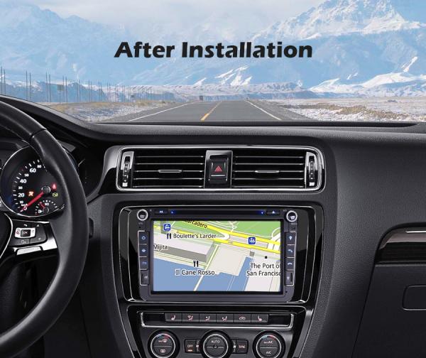 Navigatie auto universala 2DIN(VW/SEAT/SKODA), 8 inch, Android 10, Gps 4G , 2GB RAM, 16GB memorie interna 11
