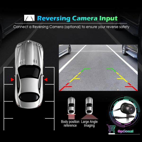 Navigatie auto universala/Multimedia player cu articulatie rotativa reglabila,10.1 inch, Android 10, Quad Core, 2Gb Ram 7