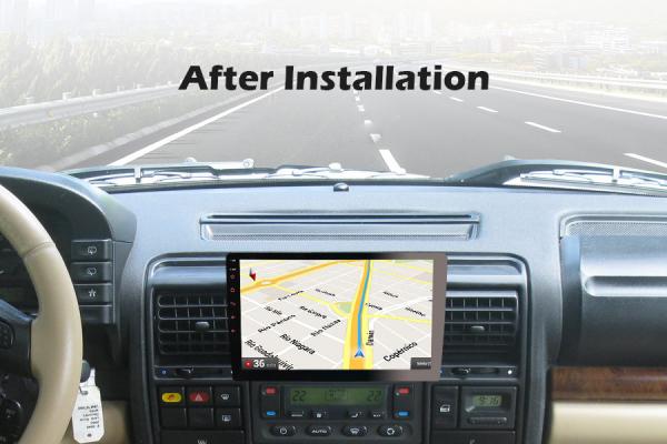 Navigatie auto universala/Multimedia player cu articulatie rotativa reglabila,10.1 inch, Android 10, Quad Core, 2Gb Ram 3
